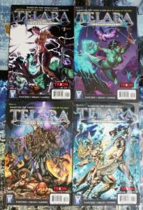 TELARA CHRONICLES (2010 WS/DC)1-4 Video Game Comics!
