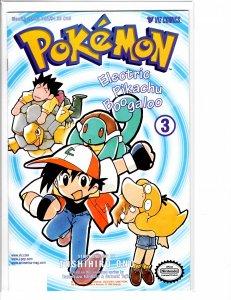 Pokemon Electric Pikachu Boogaloo (1999) #3 NM (9.4)
