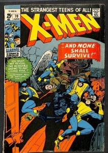 X-Men #70 GD/VG 3.0 Marvel Comics