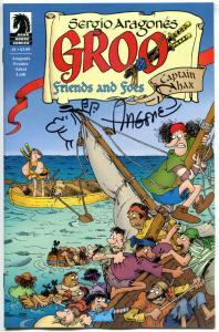 Sergio Aragones - GROO FRIENDS & FOES #1 2 3 4 5-8,  11-12, NM, Signed w/ remark