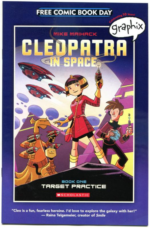 CLEOPATRA in SPACE #1, NM, FCBD, Maihack, 2015, more Promo/items in store