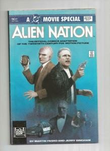 ALIEN NATION #1, Movie Special, VF+, Bingham, DC, 1988, more in store.