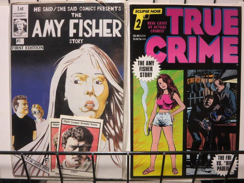 AMY FISHER PACK - two takes on 80s the tabloid scandal