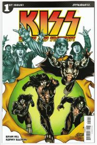 Kiss Blood & Stardust #1 Cvr E (Dynamite, 2018) NM