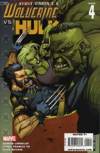 Ultimate Wolverine vs. Hulk #4 VF/NM; Marvel | save on shipping - details inside