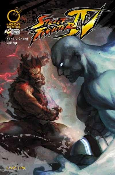 Street Fighter IV #4, NM- (Stock photo)