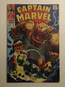 Captain Marvel 6 Gd Good 2.0 Marvel