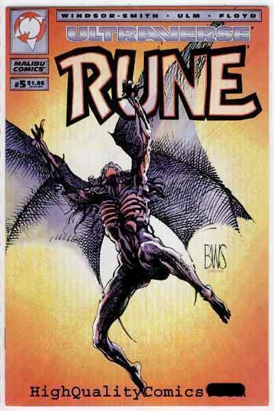 RUNE #5, NM+, Barry Smith, Vampire, 1994, Chris Ulm, more in our store