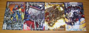 Transformers: Revenge Of The Fallen Prequel - Alliance #1-4 VF/NM complete set A