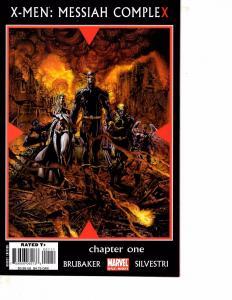 Lot Of 2 Marvel Comic Books X-Men Messiah Complex #1 and Original Sin #1 BH52