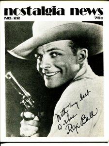 Nostalgia News #22 1973-Rex Bell-Blondie-Larry Herndon-Don Maris-FN