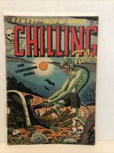 Chilling Tales #13  MISSING CENTERFOLD