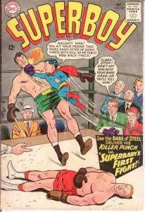 SUPERBOY 124 FAIR  October 1965 Superbaby's First Fight COMICS BOOK