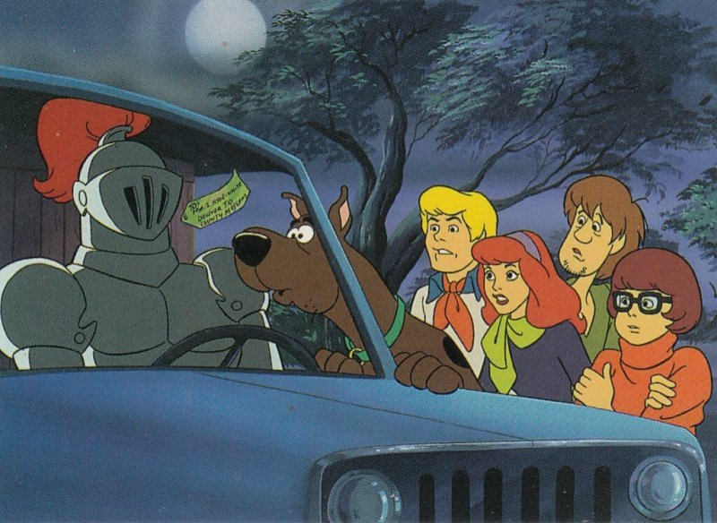 SCOOBY DOO WHERE ARE YOU? #47  CARD BY CARDZ