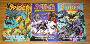 the Spider: Reign of the Vampire King #1-3 VF/NM complete series - pulp hero set