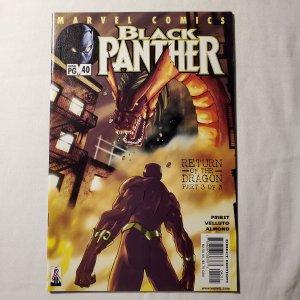 Black Panther 40 Very Fine/Near Mint