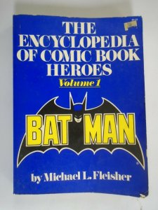 Encyclopedia of Comic Book Heroes SC #1 TPB 4.0 VG (1976 Collier Books)