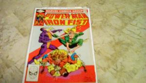 Power Man And Iron Fist #84 Comic Marvel 1982 4th Appearance Sabretooth