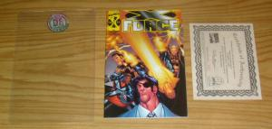 X-Force #102 VF/NM dynamic forces variant w/ COA - humberto ramos - warren ellis