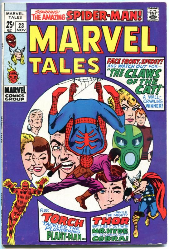 MARVEL TALES #21, 23, FN, Spider-man, Thor, Stan Lee, Ditko, 1964, more in store