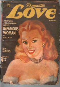 Scrap Book 2/1948-Myra Gay-pin-up girl portrait cover-FR
