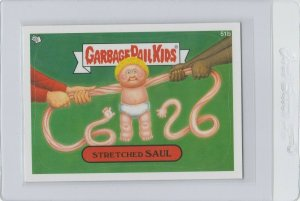 Garbage Pail Kids Stretched Saul 51b GPK 2012 Brand New Series 1 trading card