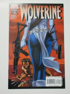 Wolverine (Marvel v3 2008) #64 Bankrobbing Mystique! Signed by Ron Garney