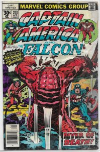 Captain America   vol. 1   #208 FR (and the Falcon) Kirby