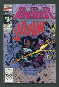 Punisher #36 / 9.2 NM-  Jigsaw  Part One August 1990