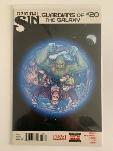 Guardians of The Galaxy #20 Original Sin Marvel Comics NM