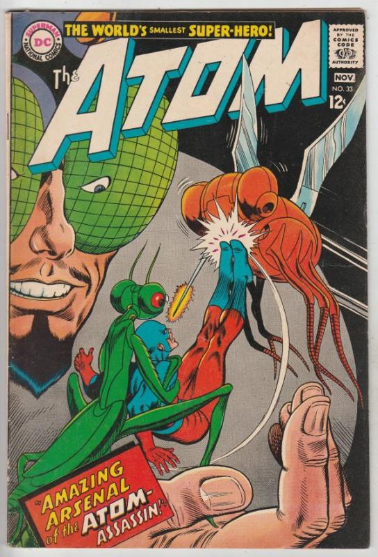 Atom, The #33 (Nov-67) VF High-Grade The Atom