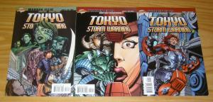 Tokyo Storm Warning #1-3 VF/NM complete series WARREN ELLIS cliffhanger comics 2
