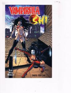 Vampirella / Shi Limited Ash Can NM Harris Comic Book Mark Morales B99
