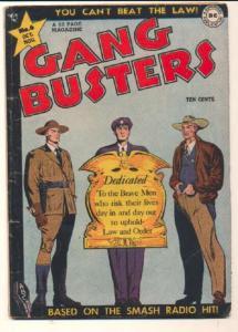 Gang Busters (1947 series) #6, VG+ (Actual scan)