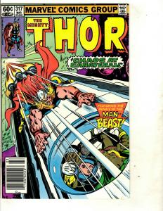 Lot of 9 Thor Marvel Comics # 317 316 315 314 313 312 311 310 309 Spider-Man DS3