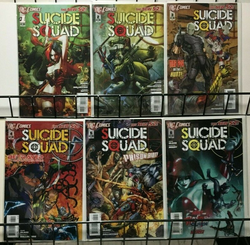 SUICIDE SQUAD NEW 52 - 18 Issues #0-#16 - 2011-13 VF or Better Harley Quinn