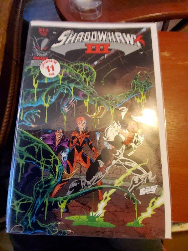 Shadowhawk III #4 (1994)