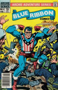 Blue Ribbon Comics (Vol. 2) #5 (Newsstand) FN; Red Circle | save on shipping - d