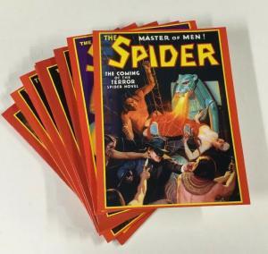 Spider Pulp Master Of Men Pulp Adventures Inc. 36 37 38 39 44 47 48 85 Near Mint