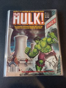 THE HULK! #20 ~ VF/NM 1980 MARVEL COMICS MAGAZINE​ EARLY MOONKNIGHT STORY