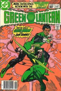 Green Lantern (2nd Series) #165 (Newsstand) VF; DC | save on shipping - details