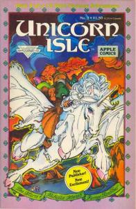 Unicorn Isle (Oct 1986 series) #3, NM- (Stock photo)