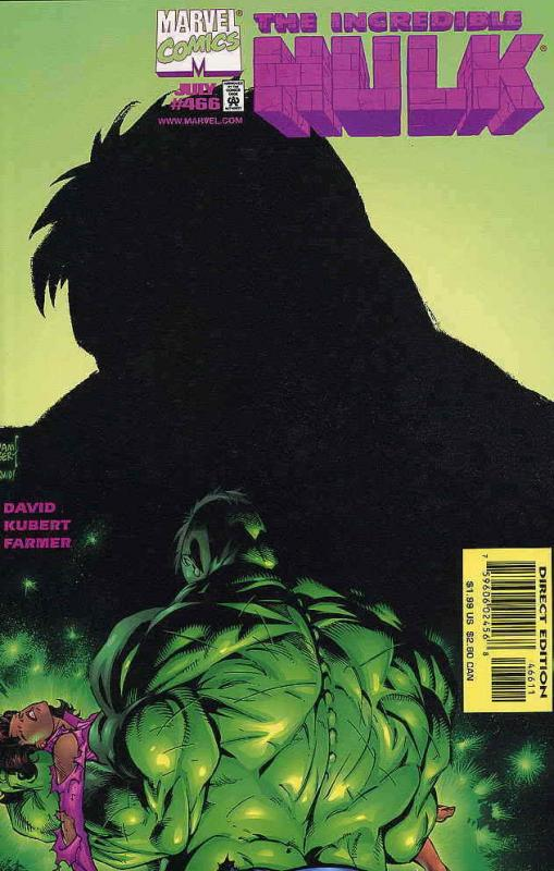 Incredible Hulk, The #466 VF/NM; Marvel | save on shipping - details inside
