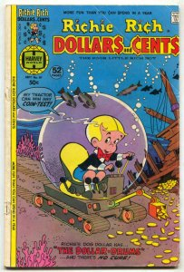 Richie Rich Dollars and Cents #81 1977- Harvey comics G/VG