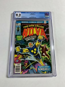 The Man Called Nova 1 Cgc 9.2 Marvel 1st Richard Ryder