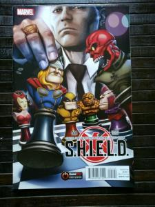 S.H.I.E.L.D. #1 Gamestop Exclusive Variant (2015)