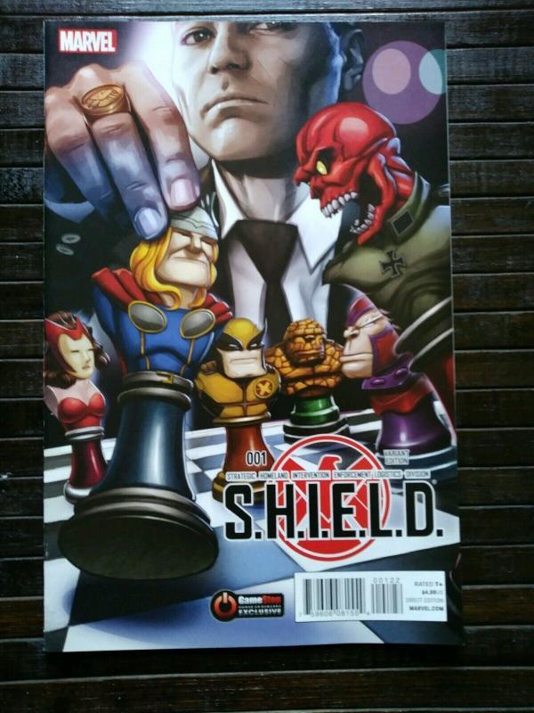 S.H.I.E.L.D. #1 Gamestop Exclusive Variant (2015)
