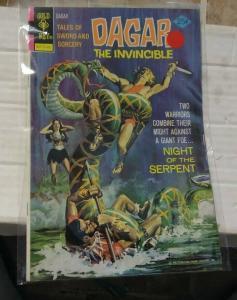 dagar the invincible # 9 1974 whitman/ western publishing   sword & sorcery
