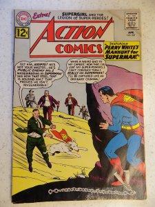 ACTION COMICS # 287 DC SUPERMAN ADVENTURE SUPERGIRL