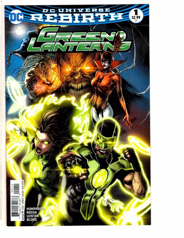 Green Lanterns Rebirth # 1 NM 1st Print DC Comic Book Hal Jordan Stewart J151
